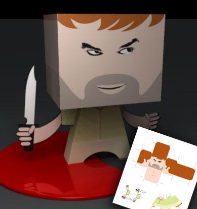 Cut and keep Dexter Morgan