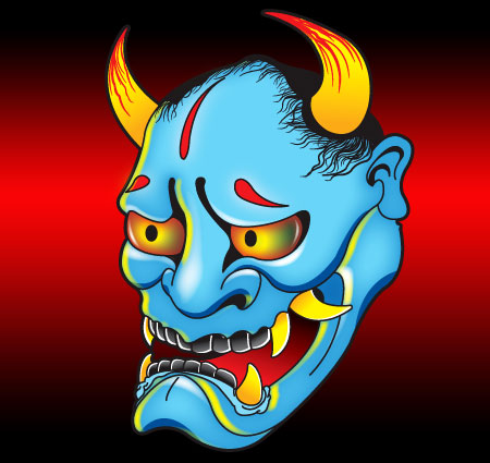 Satansbrand Hanya Demon Mask